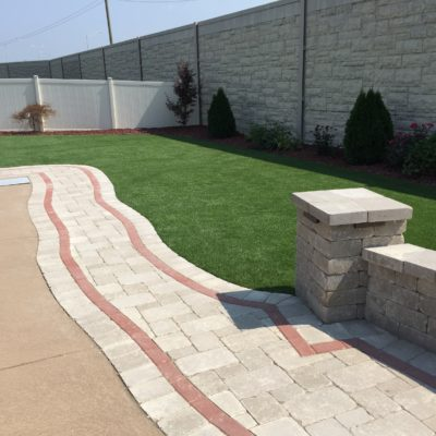Brick Pavers Glenview IL: Custom Backyard Patio & Pavers Around Pool
