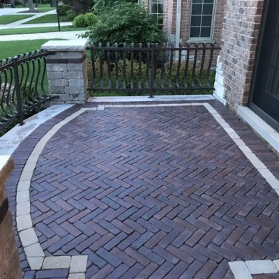 Brick Pavers Oak Brook: Custom Front Door Walkway and Path